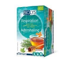 Biolys Thee Ademhaling Tijm - Eucalyptus - Honing Bio 24  zakjes