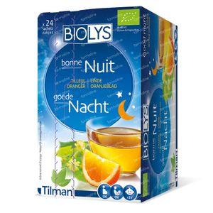 Biolys Tilleul - Oranger 24 sachets