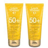 Louis Widmer All Day SPF50+ Zonder Parfum DUO 2x100 ml