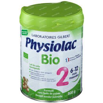 Physiolac Bio 2 Nouvelle Formule 800 g poudre