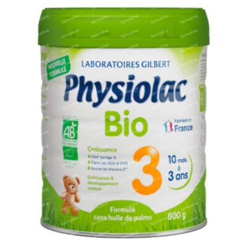 Physiolac Bio 3 Nieuwe Formule 800 g poeder