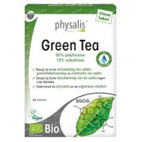 Physalis Groene Thee Bio 60  tabletten