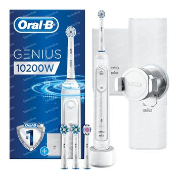 Oral B Genius 10200W Elektrische Tandenborstel Wit 1 set