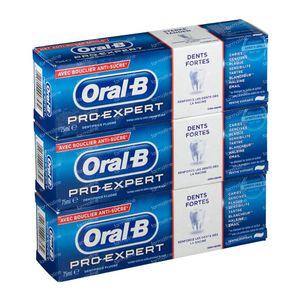 Oral B Tandpasta Pro Expert Strong Teeth 2+1 GRATIS 3x75 ml