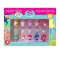 SuncoatGirl Gift Set Party Palette Water-Based Nagellak Kids 10x2 ml