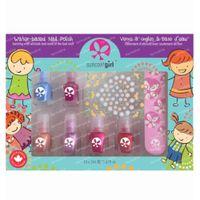 SuncoatGirl Geschenkset Mini Mani Wasserbasierter Nagellack Kinder 6x2 ml
