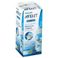 Avent Zuigfles Anti-Koliek Blauw 260 ml