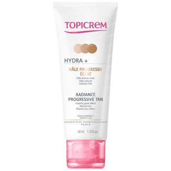 Topicrem Hydra+ Hâle Progressif Visage Éclat 40 ml