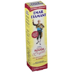 Email Diamant Dentifrice Formule Rouge 75 ml