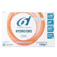 6D Sports Nutrition Hydro/ORS Grapefruit 20x6,6 g zakjes