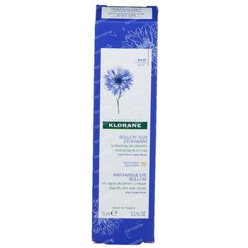 Klorane Roll-On Yeux Défatigant au Bleuet 15 ml