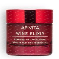 Apivita Wine Elixir Anti-Falten Straffende Nachtcreme 50 ml