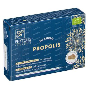 Phytolis Propolis Bio 30 comprimés à sucer
