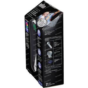 Braun Thermomètre Frontal Sans Contact + Contact avec Age Precision BNT400WE 1 pièce