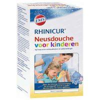 Rhinicur Neusdouche Kind +4 jaar Spoelzout 4  beutel