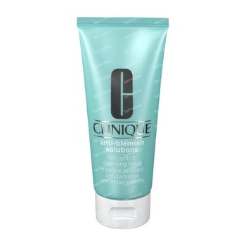 Clinique Anti-Blemish Solutions Oil-Control Cleansing Mask 100 ml