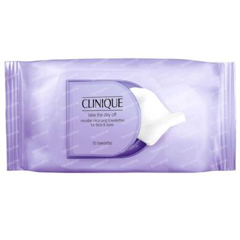 Clinique Take The Day Off Micellar Cleansing Towelettes for Face & Eyes 50 stuks