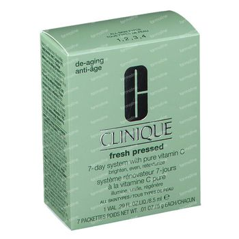 Clinique Fresh Pressed Daily Booster with Pure Vitamin C 10% 7-Day System 1 set