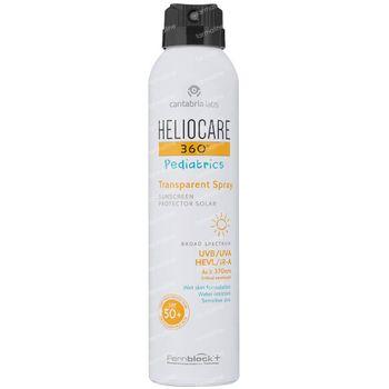 Heliocare 360° Pediatrics Transparent Spray SPF50+ 200 ml