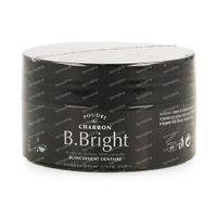 B. Bright Holzkohlepulver für Weiße Zähne 50 g