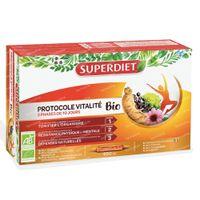 Superdiet Vitaliteit Protocol 30x15 ml