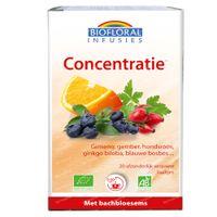 Biofloral Kruidenthee Concentratie - Geheugen en Vitaliteit met Bachbloesems Bio 20  zakjes