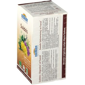 Biofloral Kruidenthee Spijsvertering en Transit Bio 20 zakjes
