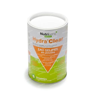 Nutrisens Hydra Clear Sucre Édulcorants Citron 760 g