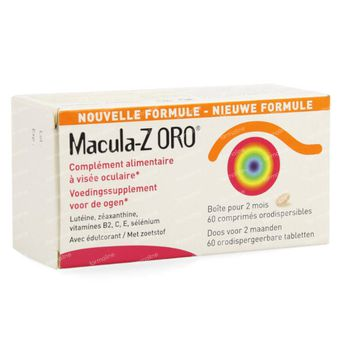 Macula-Z ORO Cassis 60 tabletten