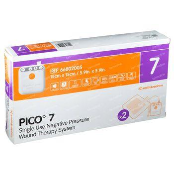 Pico 7 Verband 15x15cm 2 pièces