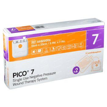 Pico 7 Verband 15x20cm 2 pièces