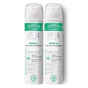 SVR Spirial Spray Anti-Transpirant Intens 48h Duo 2x100 ml