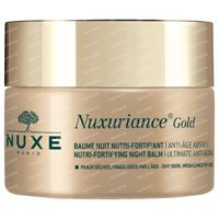Nuxe Nuxuriance Gold Nutri-Fortifying Nachtcreme 50 ml