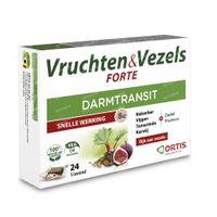 Ortis Vruchten & Vezels Forte Blokjes 24 stuks