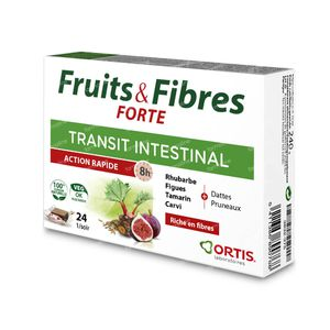 Ortis Fruits & Fibres Forte Cubes 24 pièces