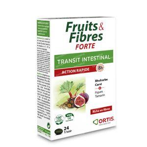 Ortis Fruits & Fibres Forte 24 comprimés