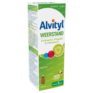 Alvityl Weerstand Siroop 240 ml siroop
