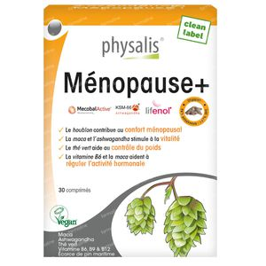 Physalis Menopauze+ 30 comprimés