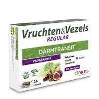 Ortis Vruchten & Vezels Regular Blokjes 24 stuks