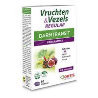 Ortis Vruchten & Vezels Regular 30  tabletten