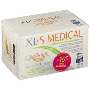 XL-S Medical Fettbinder Reduced Price 180 tabletten
