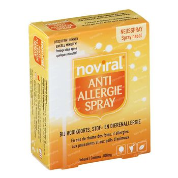 Noviral Spray Anti-Allérgie 0,8 g spray de poudre