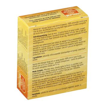 Noviral Anti-Allergie Spray 0,8 g poederspray