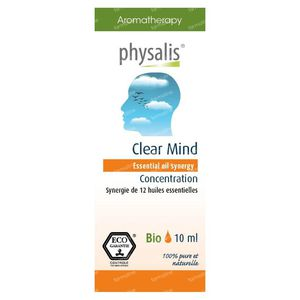 Physalis Synergy Clear Mind Huile Essentielle Bio 10 ml