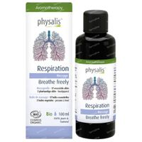 PhysalisMassage Respiration Bio 100 ml olie