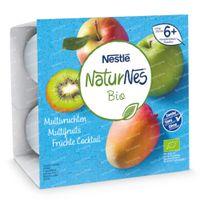 Nestlé NaturNes Bio Multivruchten 6 Maanden 4x90 g