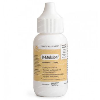 Biotics D-Mulsion 29,6 ml gouttes