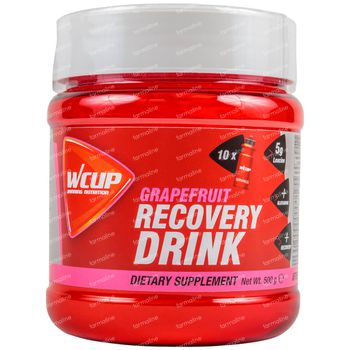 Wcup Recovery Drink Pamplemousse 500 g
