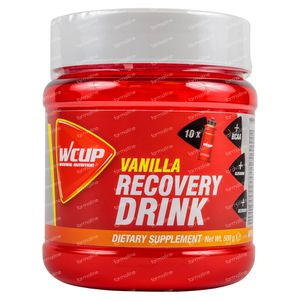 Wcup Recovery Drink Vanille 500 g