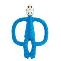 Matchstick Monkey Anneau de Dentition Bleu Foncé 1 pièce